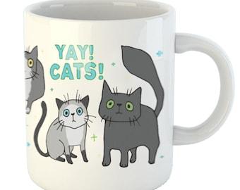 YAY Cats -  11oz mug