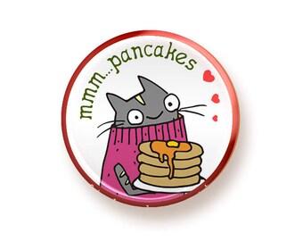 Mmm pancakes - button