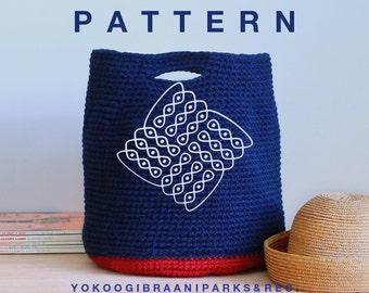 Yokoo Pattern for The East Hampton Tote Level Easy