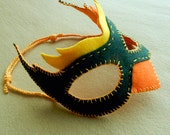 SALE Felt Bird Mask(s) Patterns - pdf - for Halloween, costume parties, dress up and role playing - 2020 New Year Party- plus Pagan Mask PDF