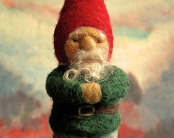 INSTANT DOWNLOAD - Felt Gnome Instruction - Make your own Gnome