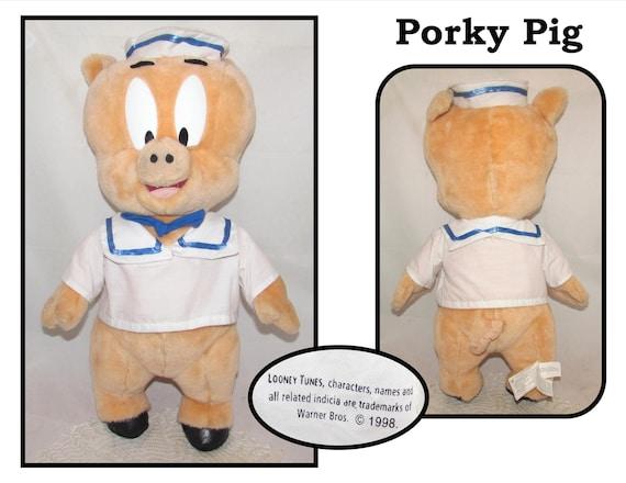 Looney Tunes Homme Porky Pig Code Couleur à Capuche