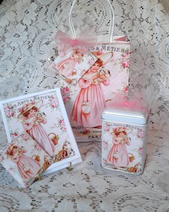 Bunny Hop Gift Bag Set