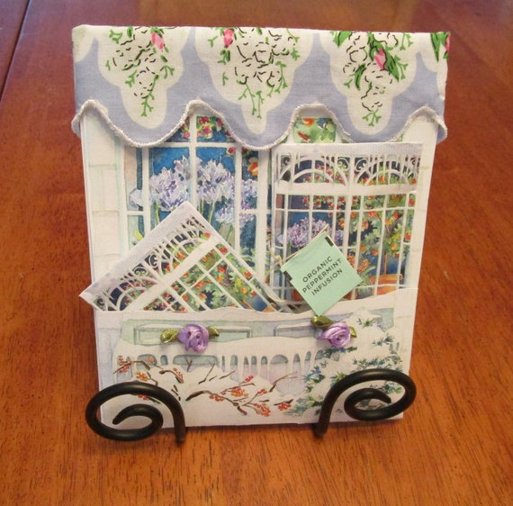 Country Windows Keepsake Hankie Folio Cards
