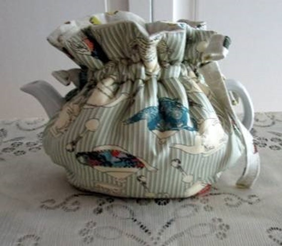 Ticking Stripe Tea Cozy