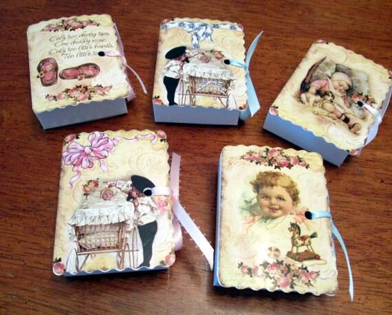 Victorian Baby Soap Favor