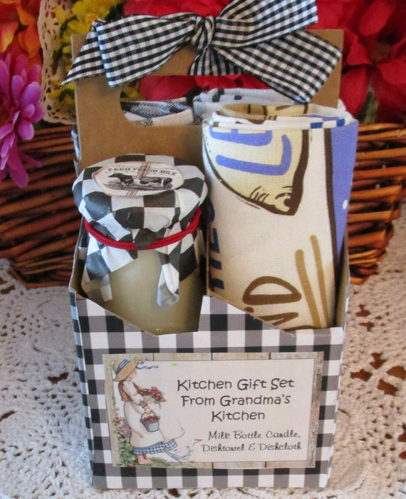Grandma's Kitchen Gift Basket