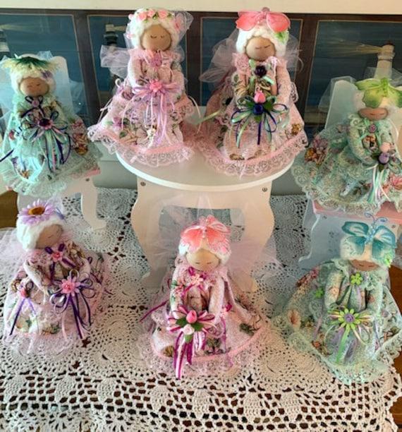 Butterfly Flower Fairy Doll
