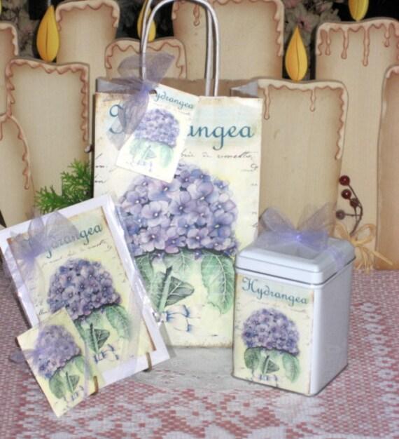 Hydrangea Gift Set