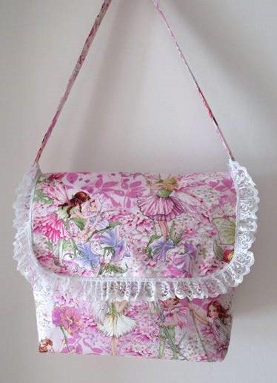 Flower Fairy Petal Pink Purse