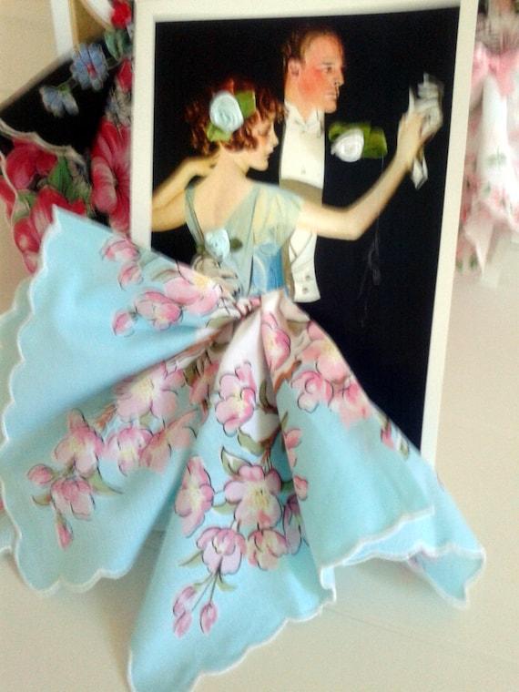 Dance Keepsake HankIe Card