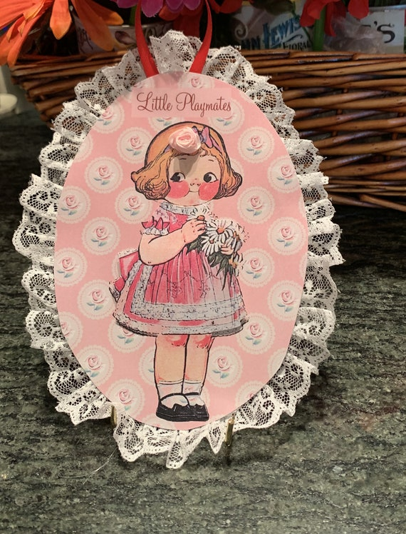 Dolly Dingle Paper Doll Wall Plaques