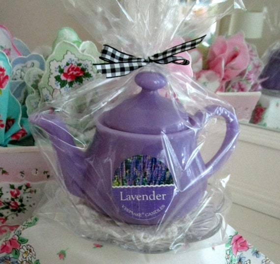 Teapot Shaped Candle