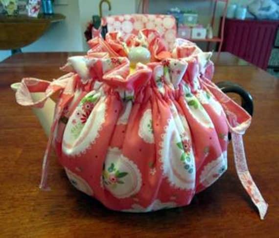 Flower Doily Reversible Wrap Around Tea Coay