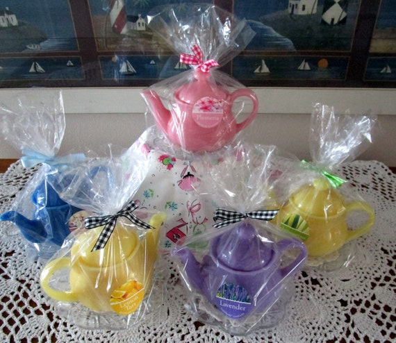 Teapot Candle Favors