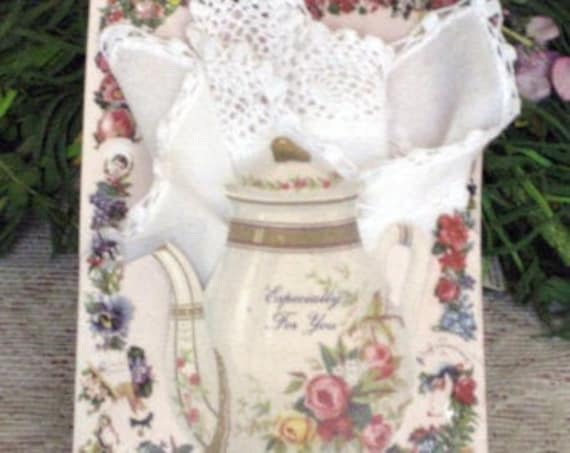 Especially for You Keepsake Hankie Card