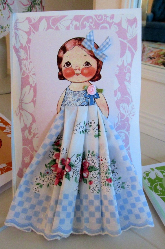 Dolly Dingle Paper Doll Card