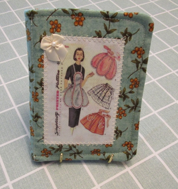 Fabric Notepad, Pen and Pincushion Gift Set