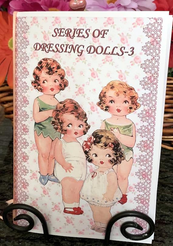 Dolly Dingle Playmate Hankie Card