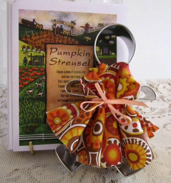 Pumpkin Streusel Cookie Cutter Doll