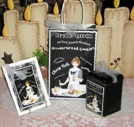 Domestic Goddess Gift Bag Set