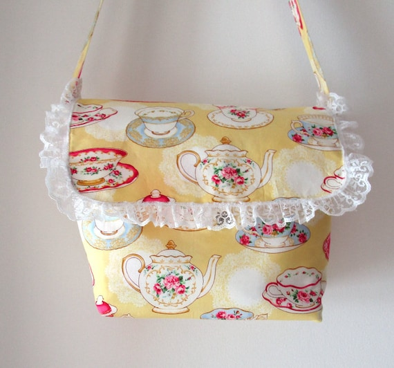 Tossed Teacups Purse