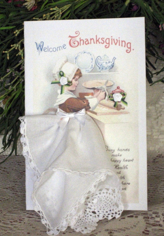 November Hanky Card Of the Month