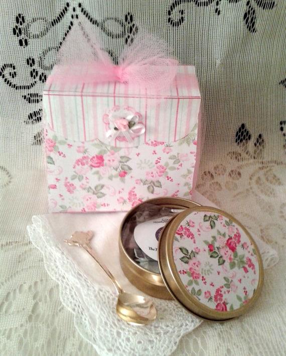 Handmade Tea Gift Box