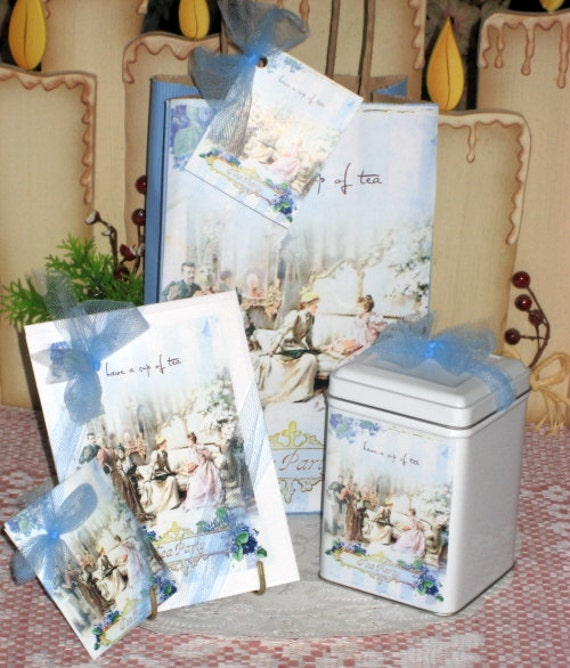 Let's Have Tea Gift Bag Set