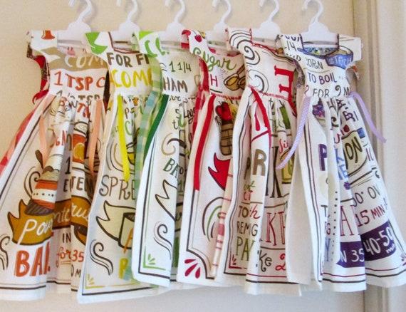 Recipe Towel Dresses