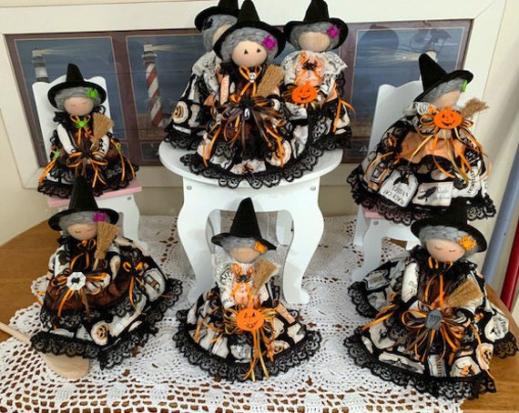 Halloween is Here Witch Doll