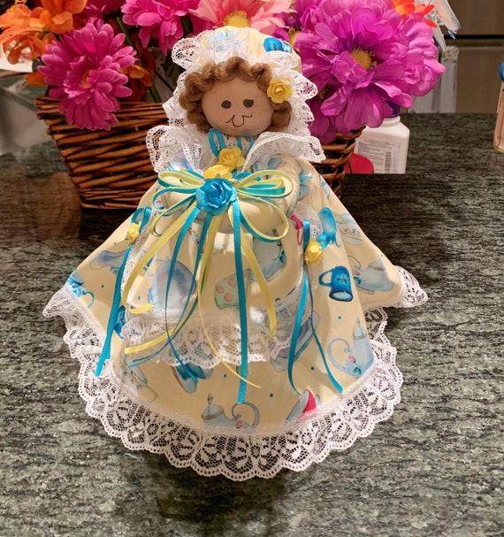 Country Girl Tea Doll