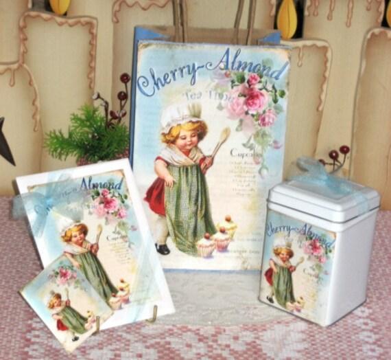Little Lady Gift Bag Set