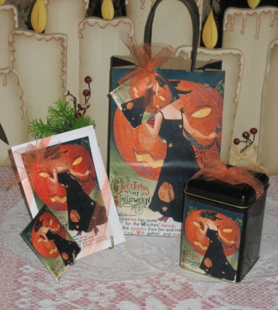Halloween Fun Gift Bag Set