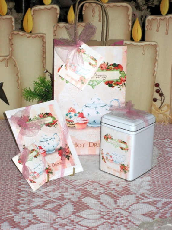 Tea Party Gift Set Pink