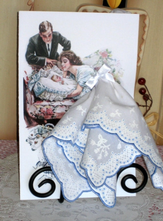 A Mother's Gift Keepsake Hanky Card