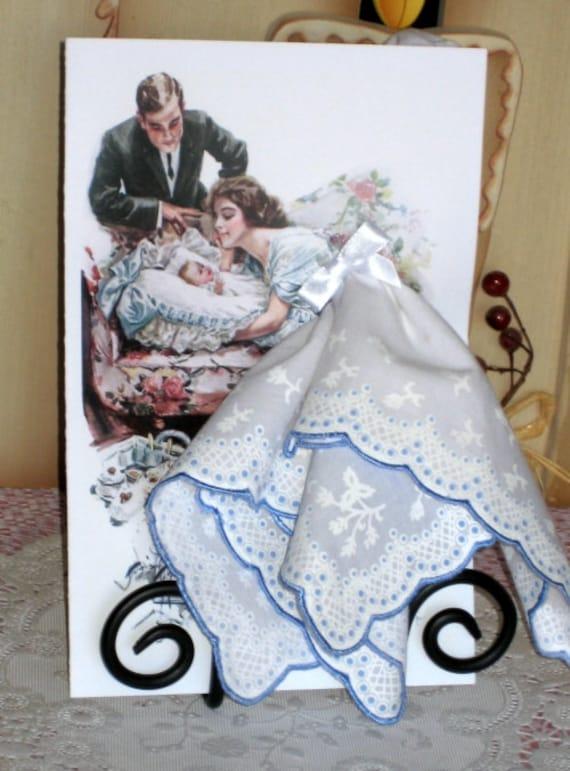 A Mother's Gift Keepsake Hanky Card