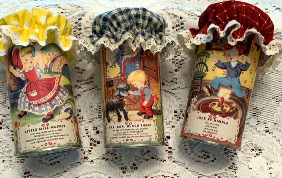 Mother Goose Tea Tins