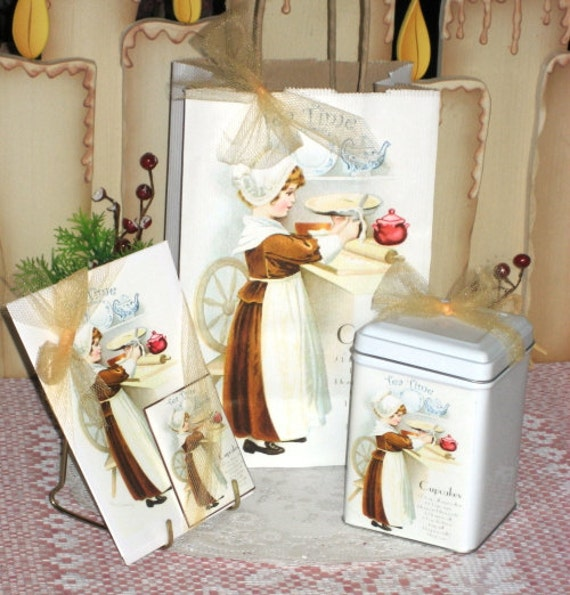 Little Lady Tea Gift Bag Set