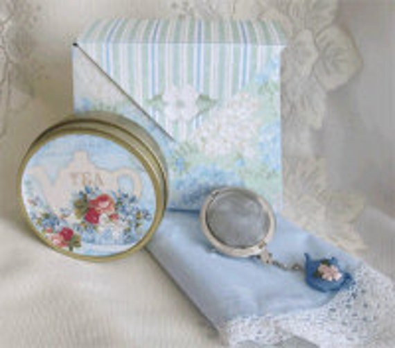 Hanky and Tea Box Gift
