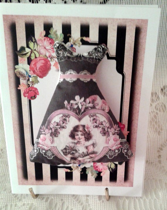 Dress Sachet Note Card