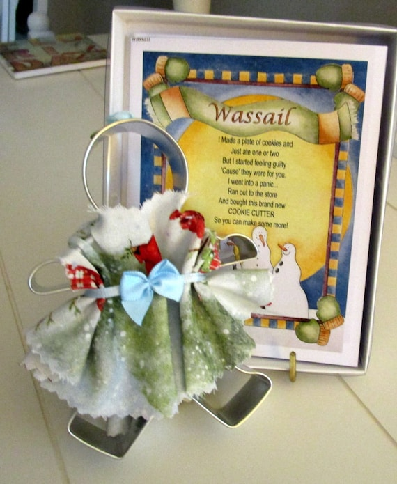 Wassail Cookie Cutter