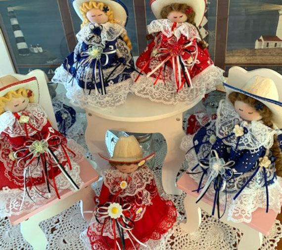 Cowgirl Freshener Dolls