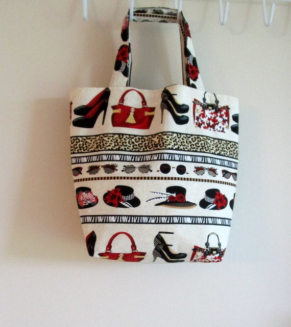 All Dressed Up Market Tote Bag
