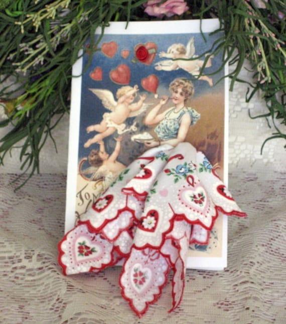 Fondest Wishes Keepsake Hanky Card