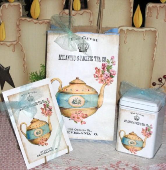 My Favorite Teapot Gift Bag Set
