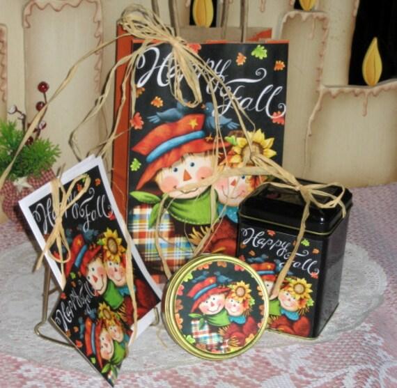 Happy Fall Gift Bag Set