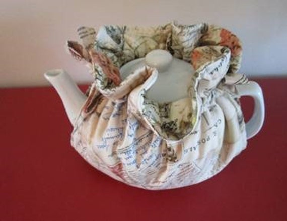 Postcard Tea Cozy 6-8 cup
