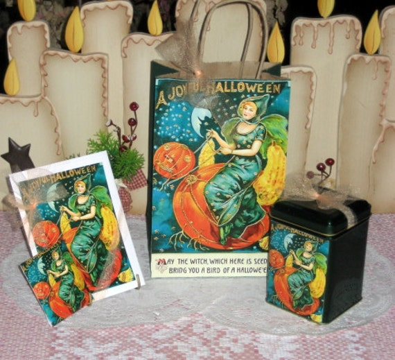 A Joyful Halloween Gift Bag Set