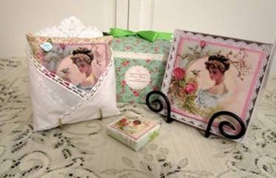 Sachet and Soap Gift Box